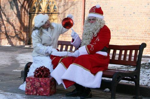 Kalėdų Senelis ir Snaigių Princesė