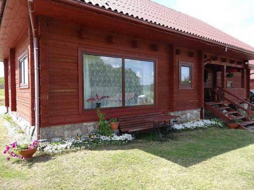 Namo nuoma prie Malkėstaičio ežero Molėtų rajone, Rudilių kaime, Molėtų r. sav.