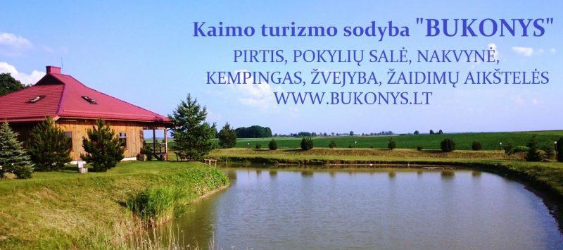 """Kaimo turizmo sodyba """"Bukonys"""""""