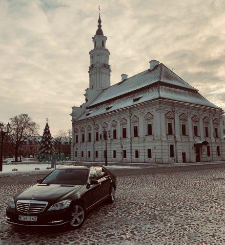 Prabangių    Mercedes – Benz S350 Long automobilių nuoma