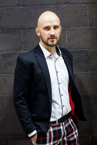 Renginio vedėjas Antanas Kanopkinas