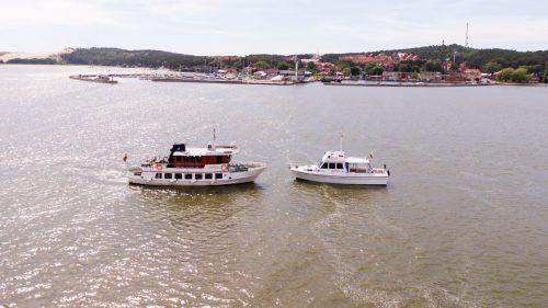 Marių laivai Aistis ir Austėja