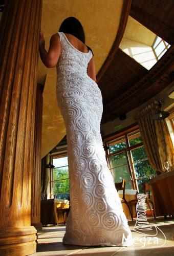 Vestuvinė suknelė kurta Lietuvoje (Megza. Vaida Čerkasienė)