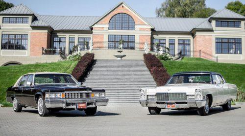 Cadillac Sedan DeVille Automobiliu Nuoma