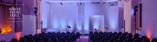 White Piano Hall koncertų salė senamiestyje (galimas vidinis kiemas)
