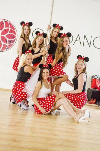 Mergvakaris Pole Dance Vilnius studijoje