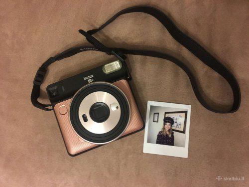 Momentinio fotoaparato Fujifilm Instax Sq6 nuoma momentinis fotoaparatas
