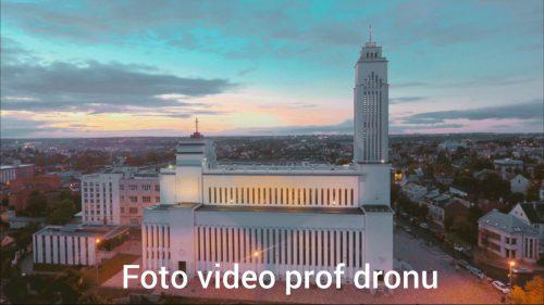 Filmavimas fotografavimas profesionaliu dronu Dji