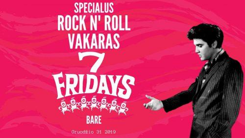 """Specialus """"Rock n Roll"""" teminis vakaras Naujiesiems Metams"""