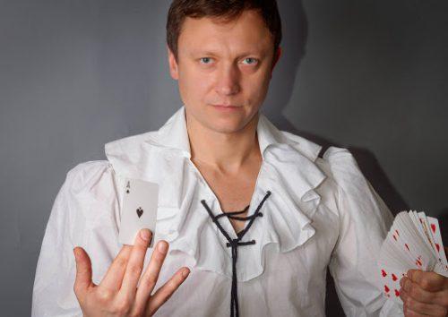 Iliuzionistas Jonas Palionis