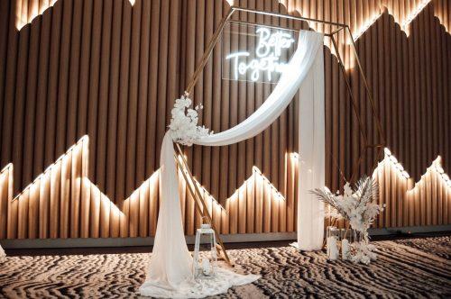 Dekoruotos šventinės, vestuvinės arkos nuoma
