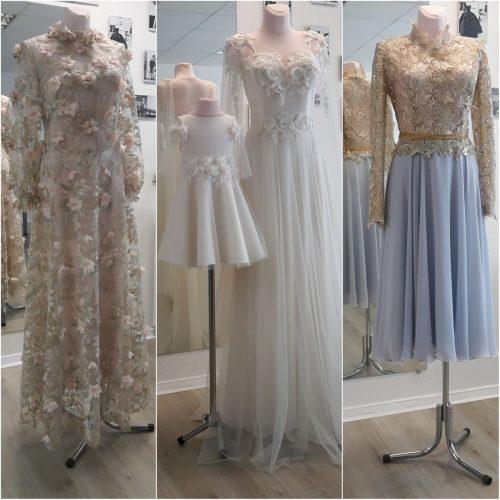 Vestuvinės ir proginės suknelės.